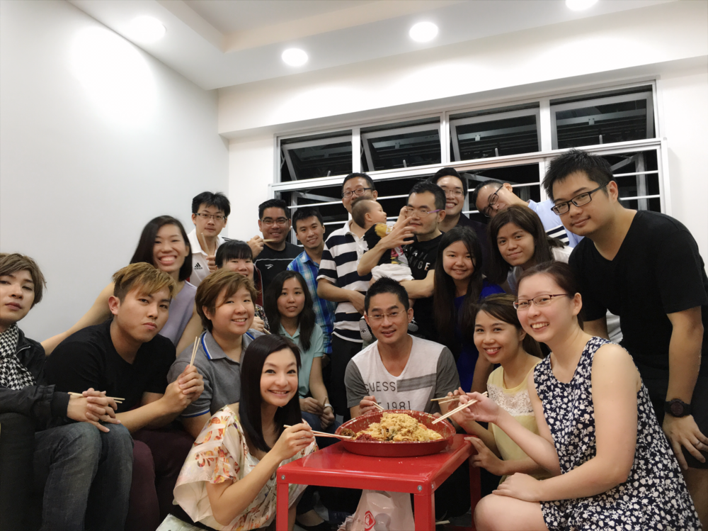 Another awesome Lou Hei Party!! Time flies when with them...