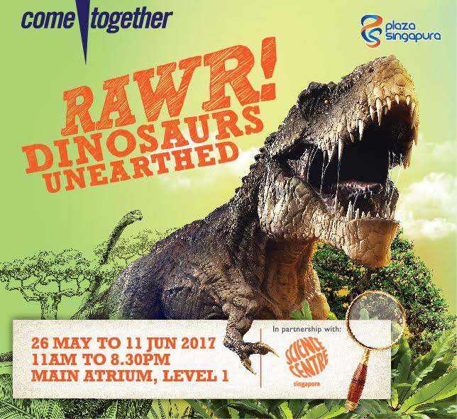 Rawr! Dinosaurs Unearthed (May 2017)