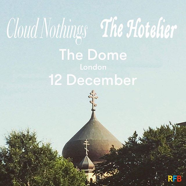 @cloudnothings and @thehoteliergram here in December! 🙌🏻🙌🏻🙌🏻