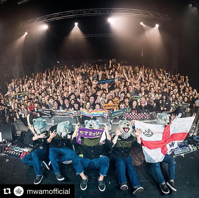 Safe to say @mwamofficial was one hell of a night on Friday! #dometufnellpark #manwithamission #mwam