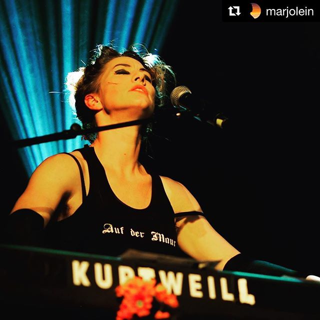 What a night Saturday was. Huge s/o to @dresdendolls for an incredible show. #dometufnellpark #livemusic #dresdendolls #london  #Repost @marjolein with @get_repost ・・・ The Dresden Dolls at the Dome. Excellent show!