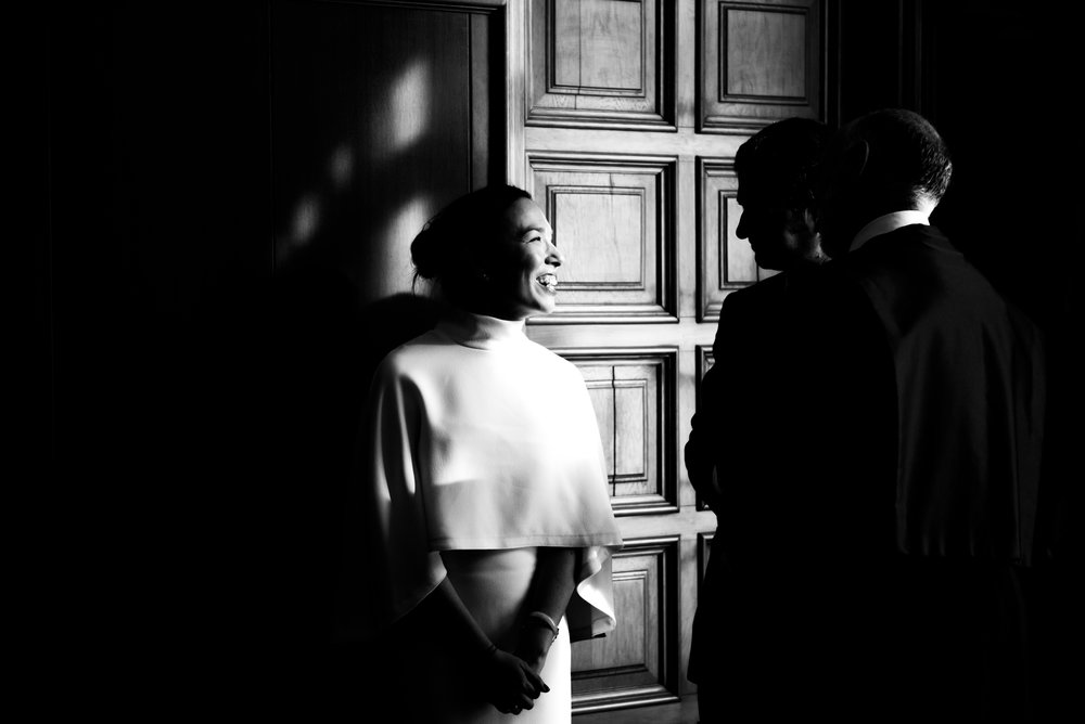 Happy bride BW Barcelona Wedding Guillem Cheung Bryllup