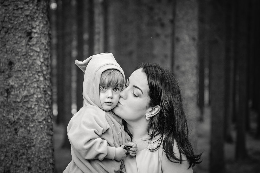Mother and daughter family photography outdoor Stavanger Familie fotografering