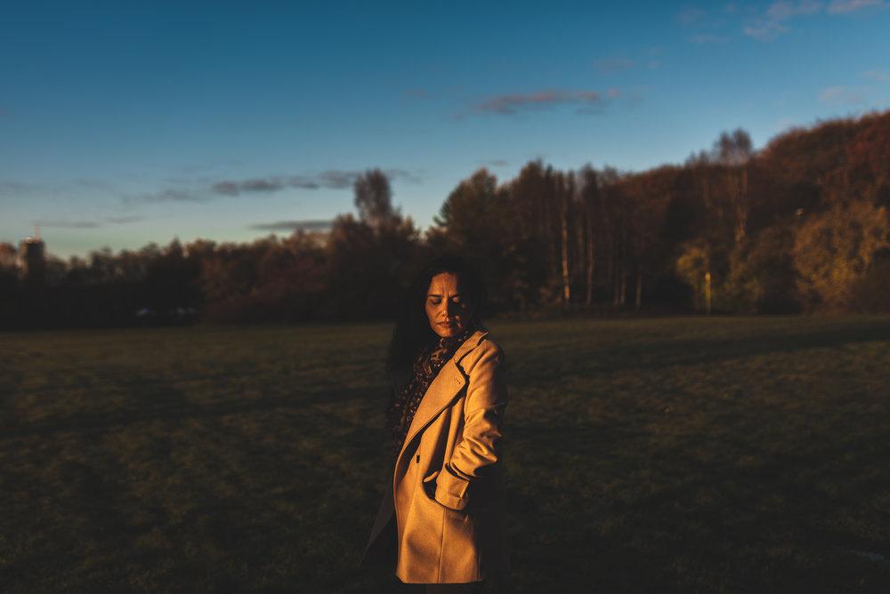 Autumn sun Stavanger Portrait photography portrett fotograf