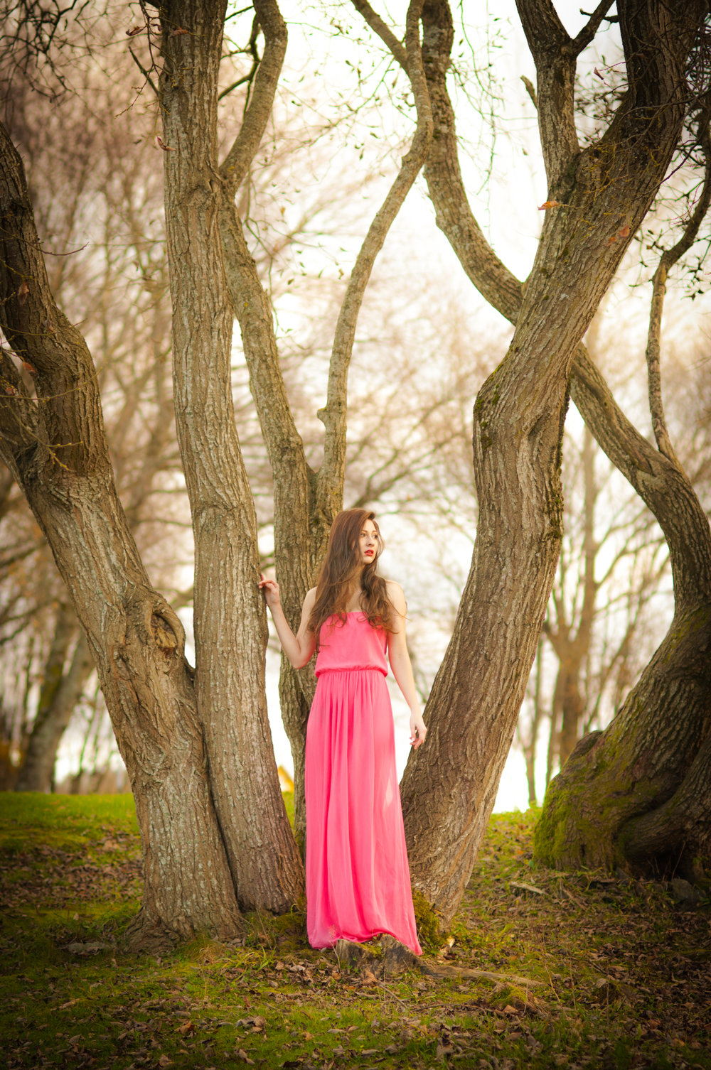 Girl in the forest Stavanger Portrait photography portrett fotograf