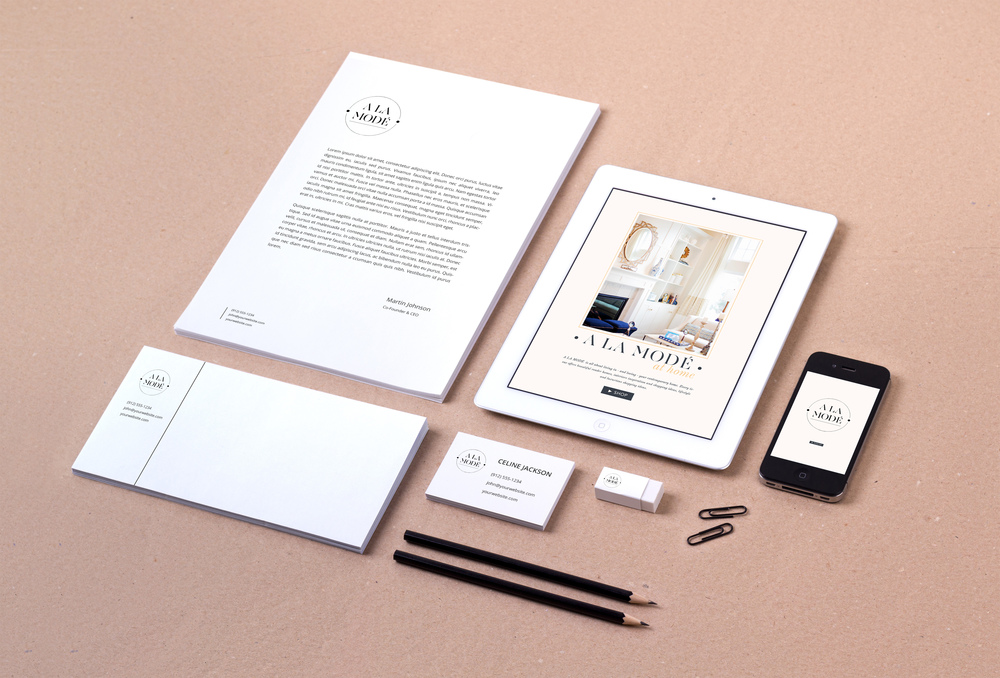 Business Branding Stationary Design