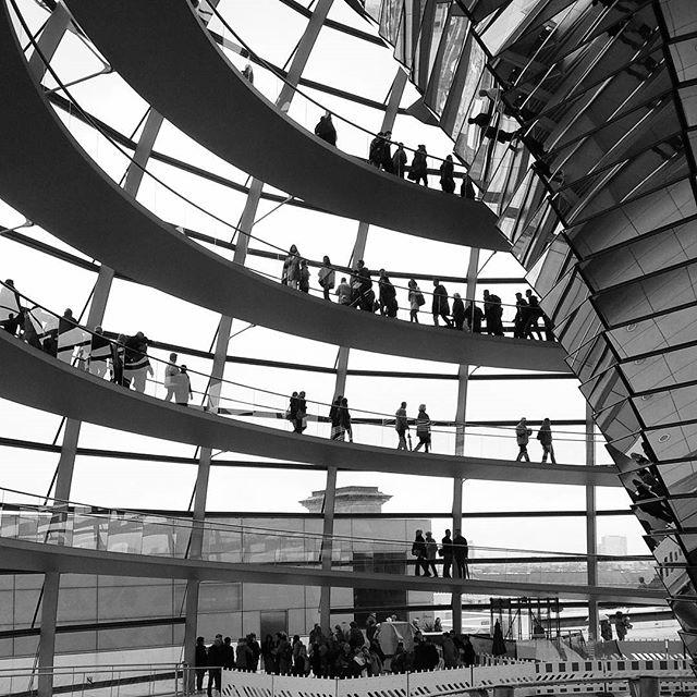 Bundestag dome.