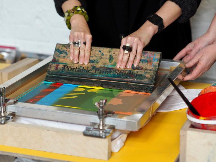 portable print studio