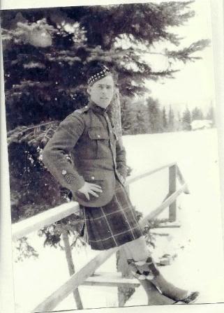 CSM George Hilton Soles, 72nd Battalion, Seaforth Highlanders of Canada