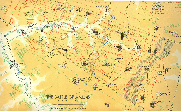 The Battle of Amiens_August 8th-18th 1918