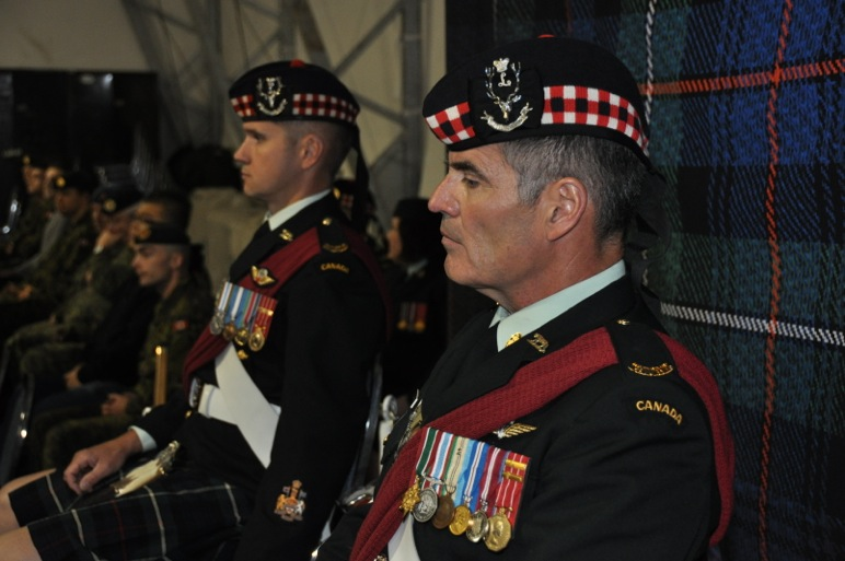 During the Honourary Colonel's address, CWO O'Connor reflects on the position he is about to assume