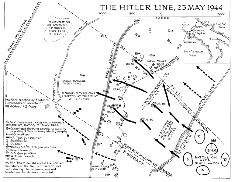 hitler line