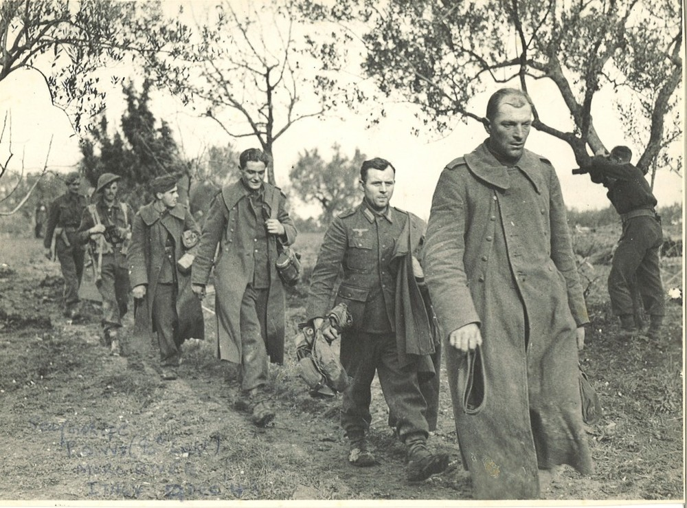German POWs, Italy 1944