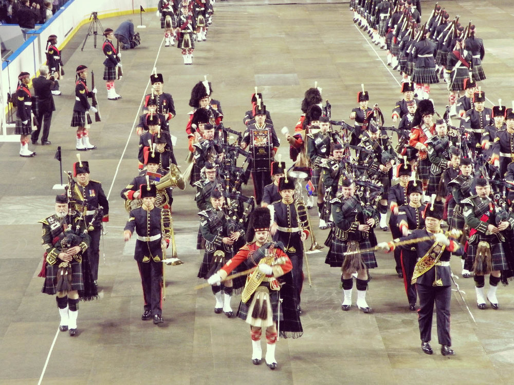 Seafort Pipes and Drums and 15th Field RCA Band 100th Anniversary.JPG