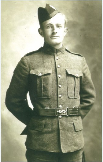 420240 Sergeant Archibald Wilson, 16th Battalion, CEF. Source: Heather Lee Aldrich and Holly Lynne Chong