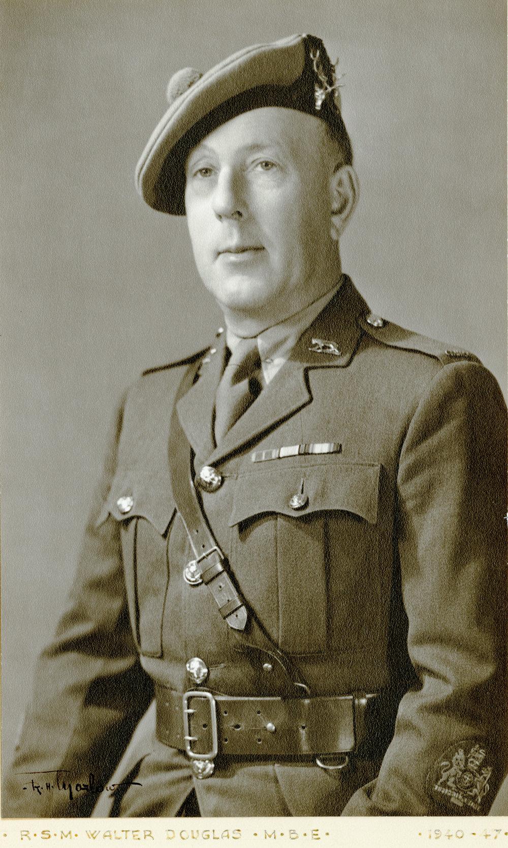 R.S.M. Walter Douglas