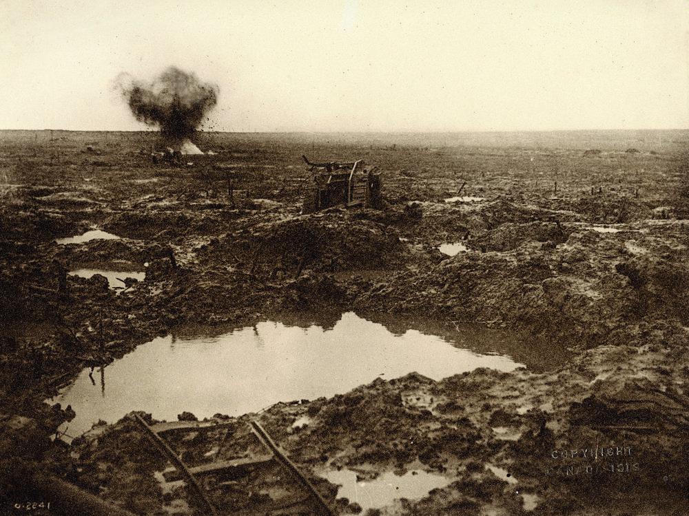 The Battle of Passchendaele - World War I: October 30th - November 2nd, 1917
