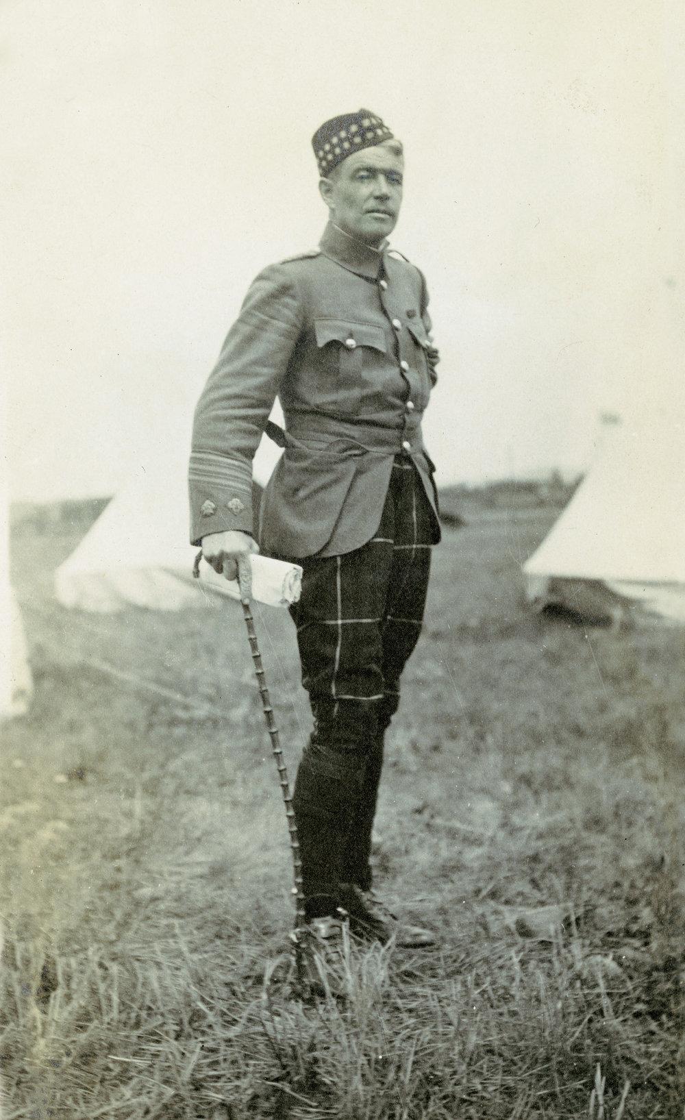 Lieutenant-Colonel R.G. Leckie.