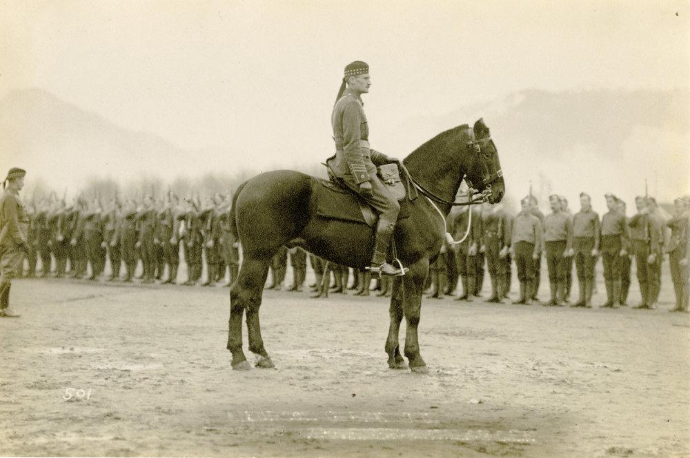Lieutenant-Colonel J.A. Clark, Commanding Officer, 72nd Battalion, C.E.F.
