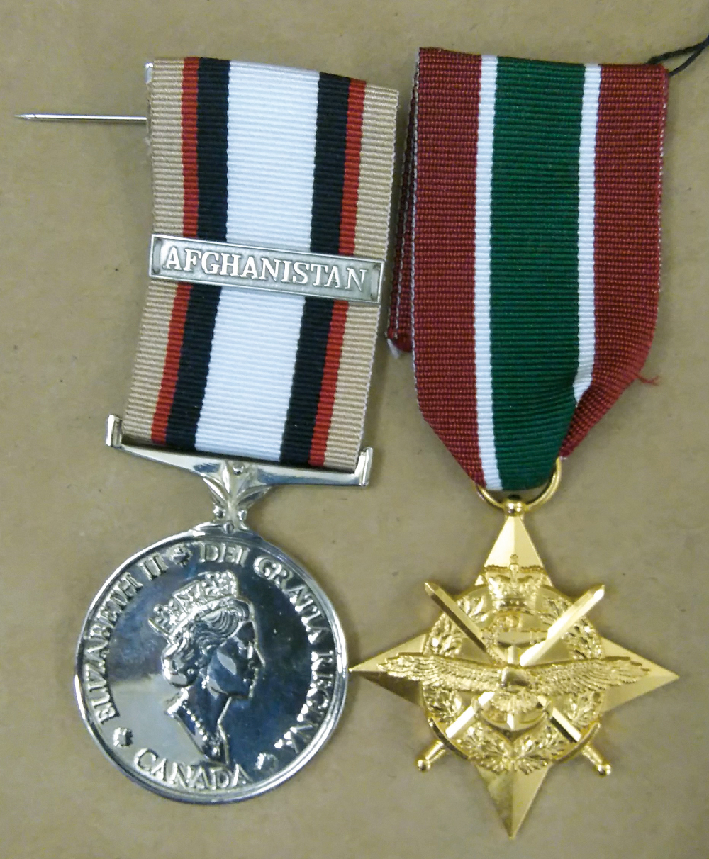A substantial percentage of the Regiment volunteered to serve in Afghanistan. Two members of the regiment were Wounded in Action and thus received the Sacrifice Medal.
