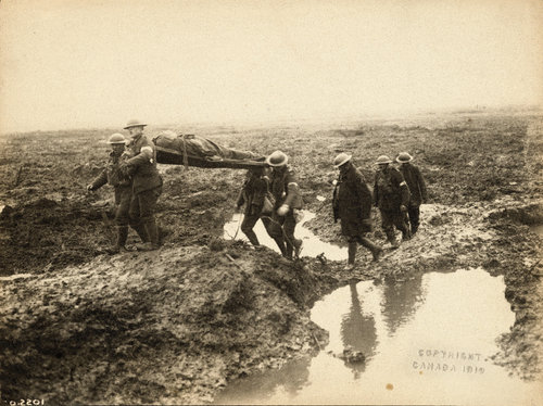 Battle of Passchendaele (Belgium) - 1917