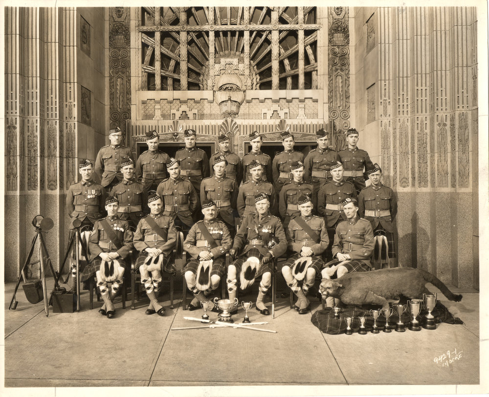 12.0 Photo - Signals Section, Militia Champs, 1930s.jpg