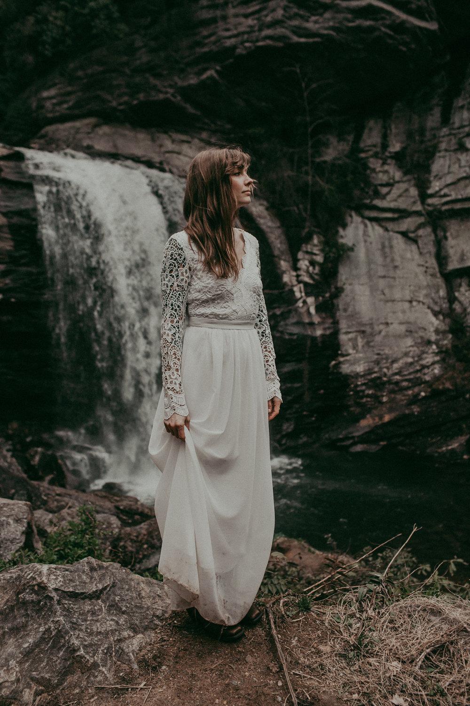 Photo from my wedding day, 2018. By  Folk + Wayfarer