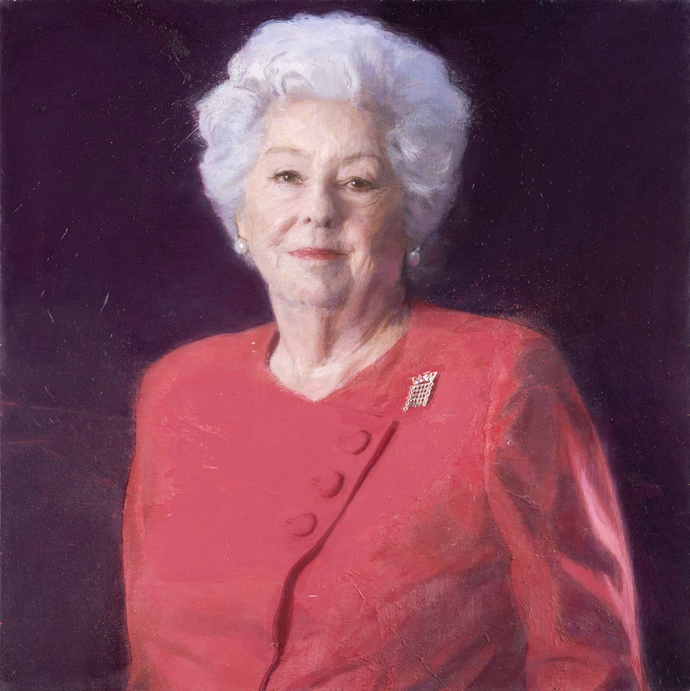 Baroness Betty Boothroyd