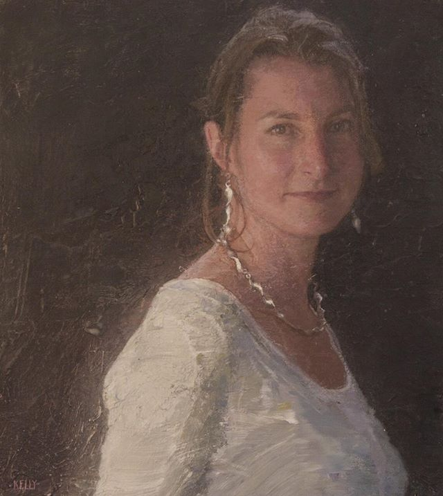 Rebecca 2015 #oiloncanvas #portrait #artist #painter #texturedpainting #paintedportrait #privatecommission