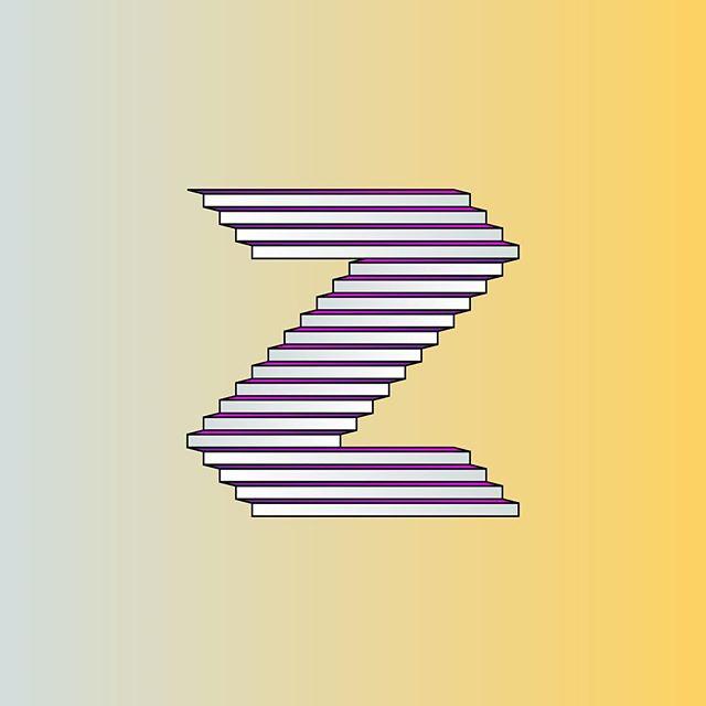 #Z by @michaelbrandley  #36daysoftype #36days_z #typography #type #escher