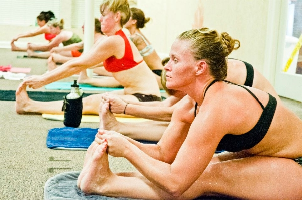 A throw-back to my Bikram yoga days, circa 2012... This was the first kind of yoga I practiced, and it took me a long time to build enough discipline to make it to class on a regular basis!!