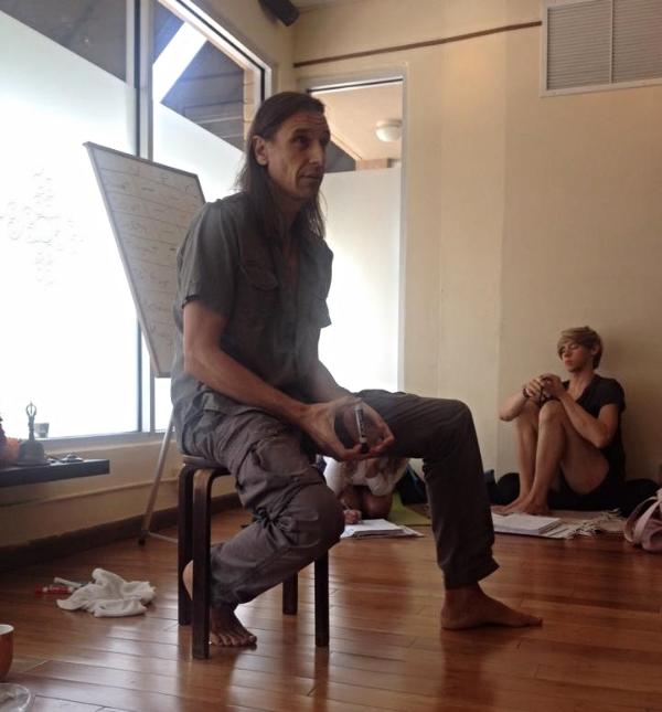 Jesus Caballero teaches us about Ayurveda during Miami Life Center's Ashtanga Intensive.