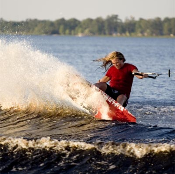 That' s me wakeboarding circa 2007 :) Photo credit  Steven Hahn