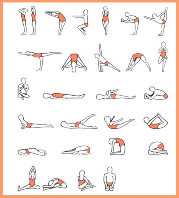 Bikram's Beginning Yoga series, intended to be accessible for Western populations like those of us living in the United States (lots of sitting from school and work, sports injuries common, etc...)