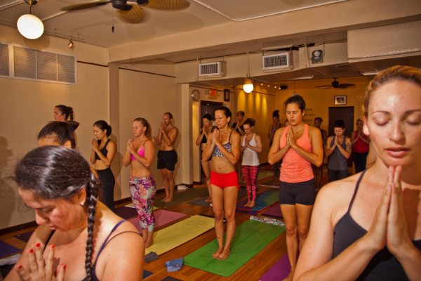 Photo from our 2015 Ashtanga Intensive at Miami Life Center by photographer  John Miller