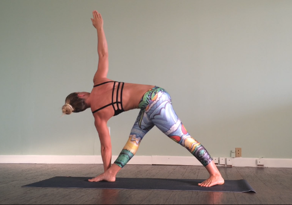 It's much easier to maintain focus when I'm practicing on my own in my yoga space. The real challenge is keeping focus in new and unusual situations.