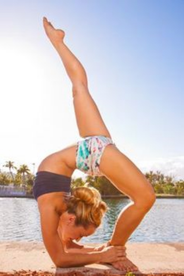 Long-time Ashtanga yoga practitioner and teacher Kino MacGregor. Kino has been practicing Ashtanga yoga for over 16 years. She is my inspiration to practice.