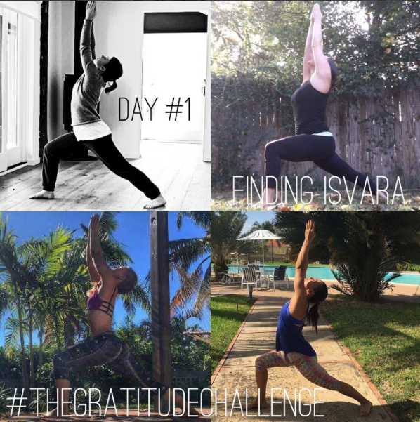 Follow us on Instagram  to see our yoga challenge photos :)