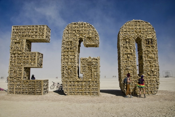 Cool photo from Burning Man 2012 courtesy of  Wayne Stadler  on flickr
