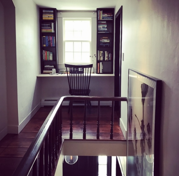 My new writing office!!! This blog piece was the first written in my cozy new writing nook.