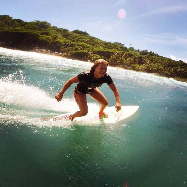 That's me surfing at Surfer's Beach in Aguadilla, PR