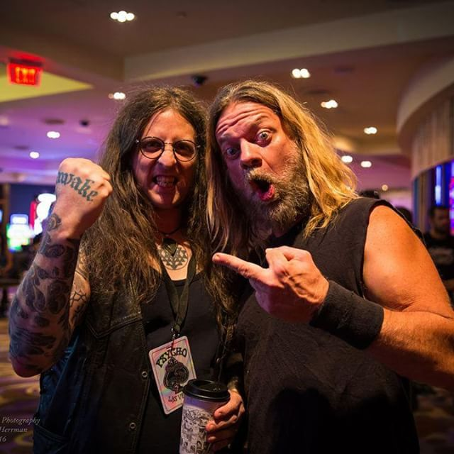 @Regrann from @doomedandstoned: Mike 'n' Pepper at Psycho Las Vegas. See Alyssa Herrman's photo set now at www.DoomedandStoned.com! - via #Regrann #repost