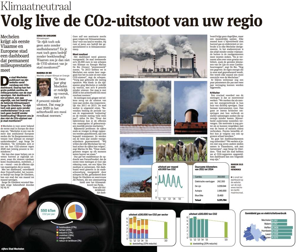 Mechelen climate neutral klimaatneutraal CO2