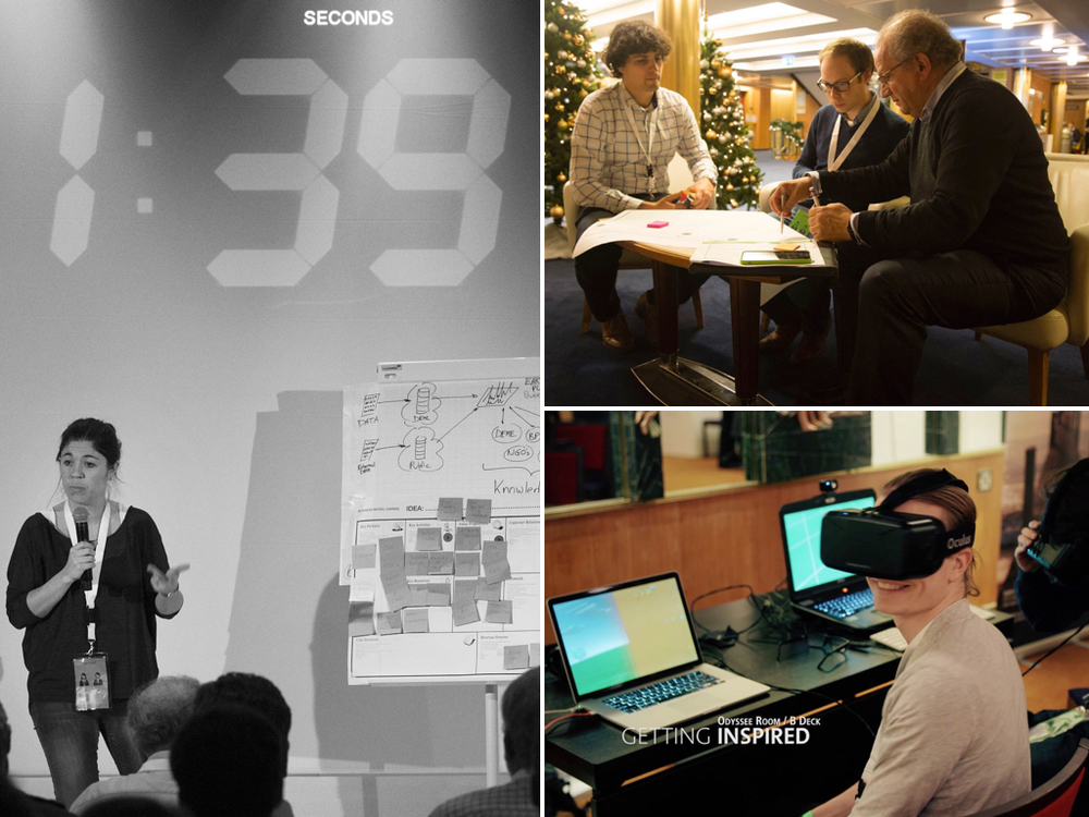 Innovation conference with DEME (December 2015)