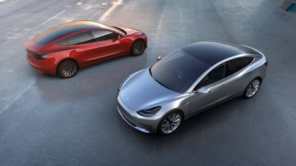 Tesla Model 3 ©EPA