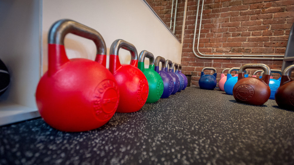 increase the weight until you're using a heavier weight that allows you to perform the desired number of reps to challenge and transform your body