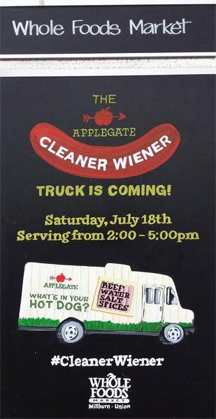 Cleaner Weiner Truck