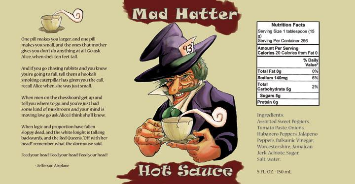 Mad Hatter Hot Sauce