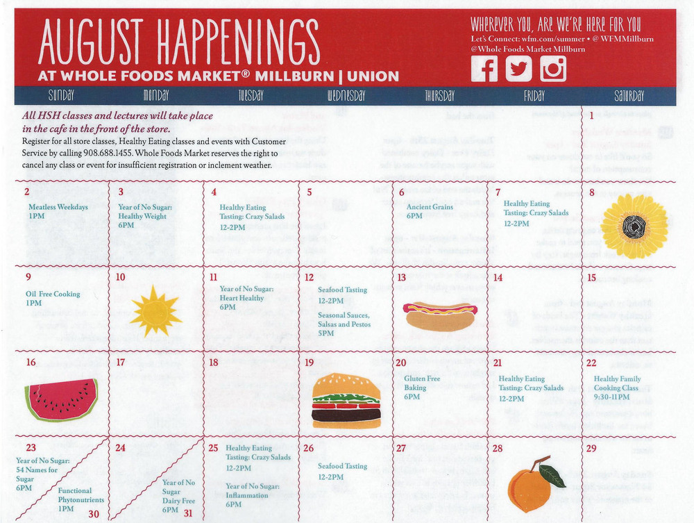 August Calendar of Events, Page 2