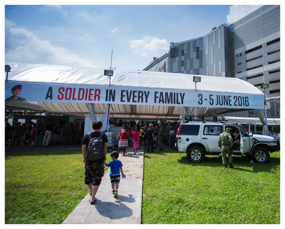 A Soldier in Every Family, Our Army Exhibition